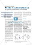 Modelle in der Elektrizitätslehre - Ein didaktischer Vergleich verbreiteter Stromkreismodelle Preview 1