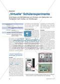 """Virtuelle"" Schülerexperimente Preview 1"