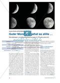 Guter Mond, du gehst so stille … - Mondphasen und Mondbeobachtungen im Physikunterricht Preview 1