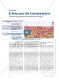 El Niño und die Atamaca-Wüste - Ein fächerübergreifendes Internetrecherche-Projekt Preview 1