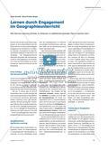 Lernen durch Engagement im Geographieunterricht Preview 1