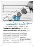 """Vom Wert des Geldes - Didaktische Einführung in die Phänomene """"Inflation"""" und """"Deflation"""" Preview 1"""