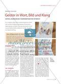"""Goethes """"Zauberlehrling"""" im medienintegrativen Unterricht Preview 1"""