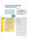 Teile-Ganzes-Beziehungen kooperativ fördern Preview 1