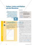 Farben, Linien und Flächen wie bei Mondrian Preview 1