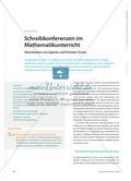 Schreibkonferenzen im Mathematikunterricht - Überarbeiten von eigenen und fremden Texten Preview 1