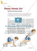 Ready, Steady, Go! - Sportarten-Wortschatz erarbeiten Preview 1