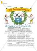 The English Olympics - Ein sportlicher Stationen-Lauf Preview 1