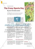 The Crazy sports Day - Mit einem Wimmelbild arbeiten Preview 1