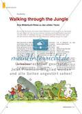 Walking through the Jungle - Eine Bilderbuch-Reise zu den wilden Tieren Preview 1