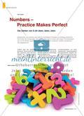 Numbers – Practice Makes Perfect: Die Zahlen von 0–20 üben, üben, üben Preview 1