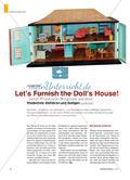 Let's Furnish the Doll's House! - Wortschatz einführen und festigen Preview 1