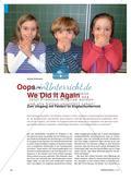 Oops – We Did It Again …: Zum Umgang mit Fehlern im Englischunterricht Preview 1