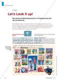 Let's Look It up! - Die Arbeit mit Bildwörterbüchern im Englischunterricht der Grundschule Preview 1