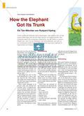 How the Elephant Got Its Trunk - Ein Tier-Märchen von Rudyard Kipling Preview 1