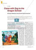 Come with Zog to the Dragon School - Mit einem Bilderbuch eine Drachen-Schule besuchen Preview 1
