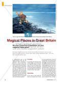 Magical Places in Great Britain - Mit einer PowerPoint-Präsentation auf eine magische Reise gehen Preview 1