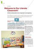 Welcome to Our Literate Classroom! - Schrift als Bestandteil einer anregenden Lernumgebung Preview 1