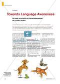 Towards Language Awareness - Mit dem Schriftbild die Sprachbewusstheit der Kinder fördern Preview 1