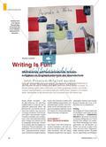 Writing Is Fun! - Motivierende und herausfordernde Schreibaufgaben im Englischunterricht der Grundschule Preview 1