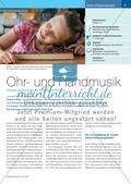 Ohr- und Handmusik - Klänge explorieren im Anfangsunterricht Preview 1