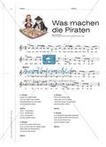 """Gemeinschaftssinn und Bewegungsaktionen beim Singen des Liedes """"Was machen die Piraten"""" Preview 4"""