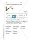 Zwei Waldlieder zum Mitspielen und Mitsingen im Anfangsunterricht Preview 4