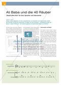 """Ali Baba und die 40 Räuber - """"Sesam öffne dich"""" für Chor, Sprecher und Instrumente Preview 1"""