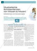 Hören und Begleiten der Schlittenfahrten aus der Mozartfamilie Preview 1