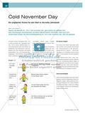 Cold November Day: Ein englischer Kanon für den Start in die kalte Jahreszeit Preview 1