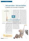 """Zeit zum leben – Zeit zum sterben: Das Bilderbuch """"Ente, Tod und Tulpe"""" von Wolf Erlbruch Preview 1"""