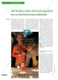 Mit Kindern über den Tod sprechen - Was es zur Unterrichtsvorbereitung zu bedenken gibt Preview 1