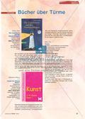 Kunst_neu, Primarstufe, Körperhaft-räumliches Gestalten, Gestaltungsaktionen, Turm, Buch, Gestaltung