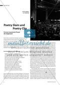 Poetry Slam & Poetry Clip - Formen inszenierter Poesie der Gegenwart Preview 1