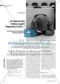 """""""Im Namen des Volkes ergeht folgendes Urteil …"""" - Eine literarische Vorlage führt zur Meinungsbildung Preview 1"""