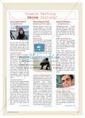 Die Gestaltung eigener Zeitungsseiten Preview 4