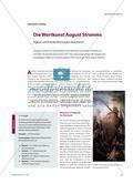 Die Wortkunst August Stramms - Eigene und fremde Wertungen diskutieren Preview 1