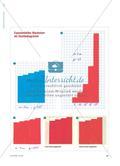Wachstum mit Schere und Kleber - Änderungsraten in Säulendiagrammen Preview 2
