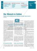 Der Mensch in Zahlen - Schätzungen und Fragen zum Durchschnittsdeutschen Preview 1