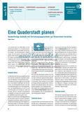 Planung einer Quaderstadt - Körpernetze von quaderförmigen Gebäuden und Einrichtungsgegenständen Preview 1