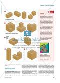 Kisten stapeln - Abbildungen von Würfelgebäuden mit Rauten Preview 2