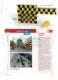 Gelbe und schwarze Würfel - Eine Straßenbahnhaltestelle als Anlass zur Wiederholung von Volumenberechnungen Preview 2