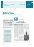 Schiefe Türme - Trigonometrische Beziehungen Preview 1