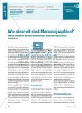 Wie sinnvoll sind Mammographien? - Absolute Häufigkeiten Preview 1