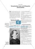 Synoptisches Lesen und bilinguales Textverstehen Preview 1
