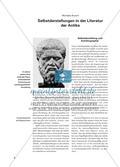 Selbstdarstellungen in der Literatur der Antike Preview 1