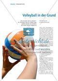Volleyball in der Grundschule Preview 1