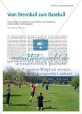 Vom Brennball zum Baseball Preview 1