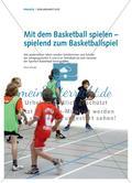 Mit dem Basketball spielen – spielend zum Basketballspiel Preview 1