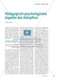 Pädagogisch-psychologische Aspekte des Kämpfens Preview 1